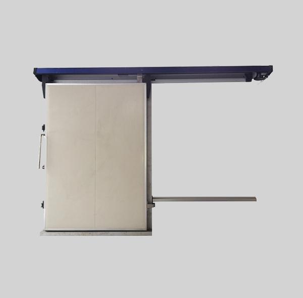 中型电动平移冷库门